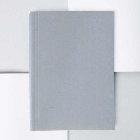 Everyday Objects Layflat Notebook in Grey