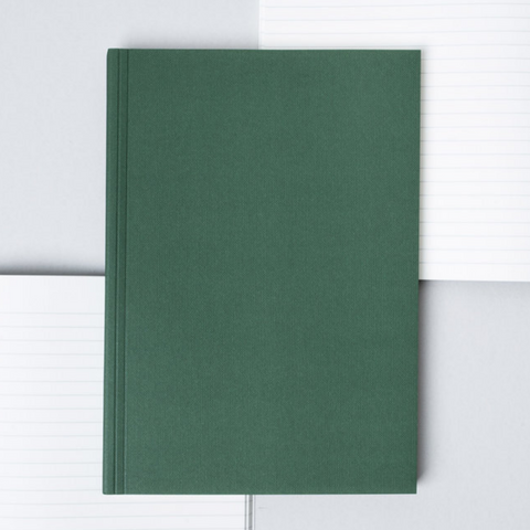 Everyday Objects Layflat Notebook in Green