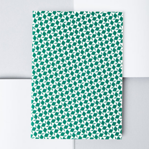 Victor Print Layflat Notebook in Green