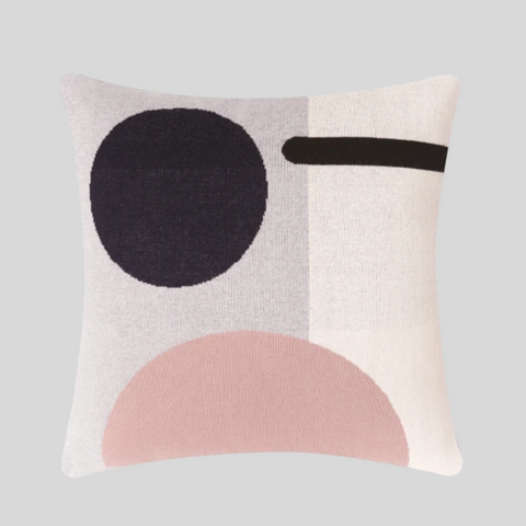 Bleecker Cushion Cover in Pink