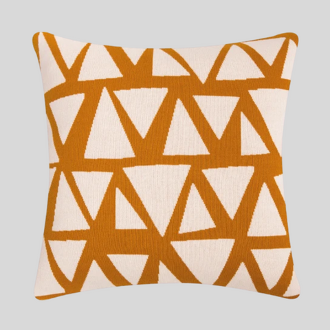 Lennox Cushion Cover in Mustard