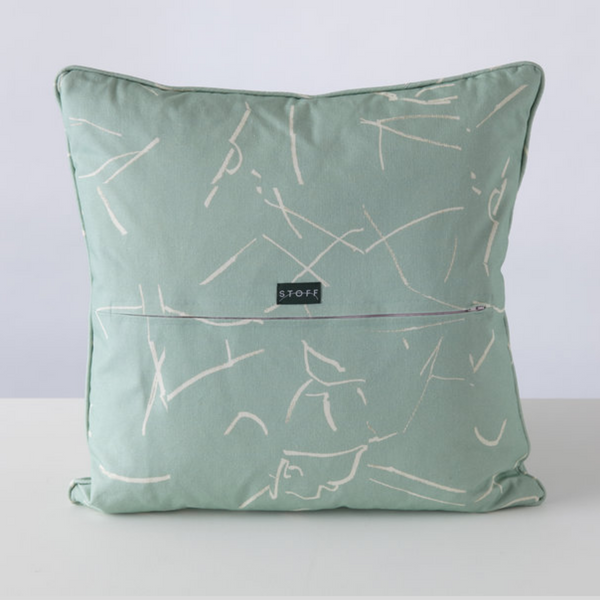 No 2 Cushion Cover in Mint