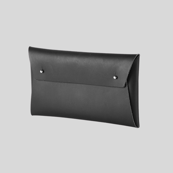 Leather Pouch in Black