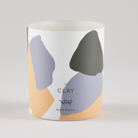Clay Scented Candle