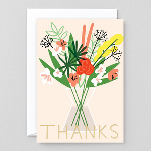 Thanks Flowers Card