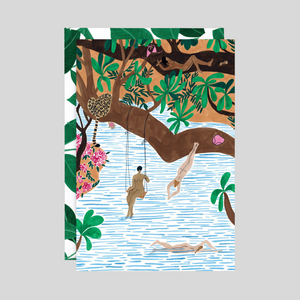 Jungle Beach Card
