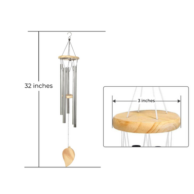 "ArtosHome 32"" Large Wind Chimes