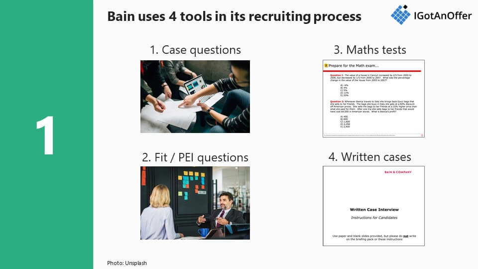 Bain recruiting process