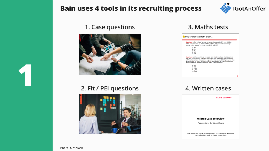 Bain case interview process