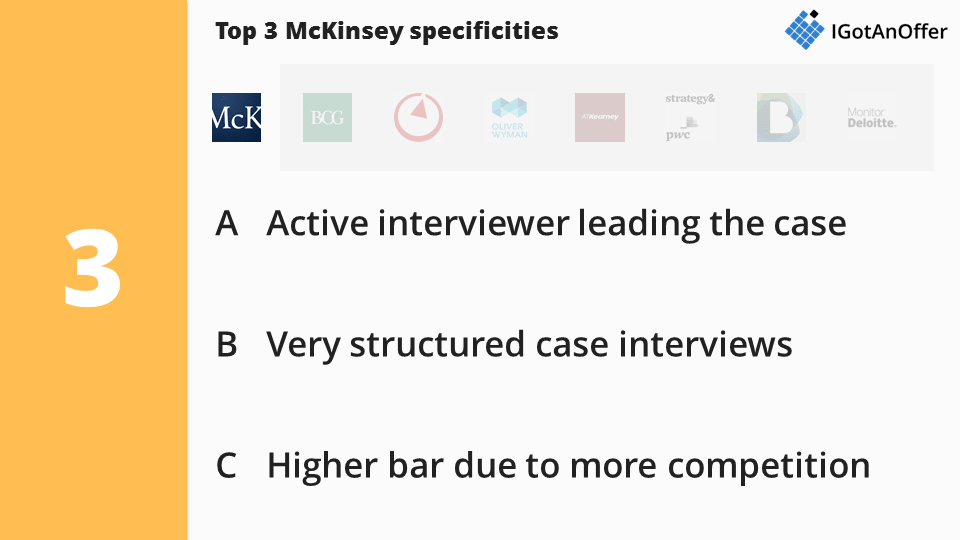 McKinsey Case Interview Specificities