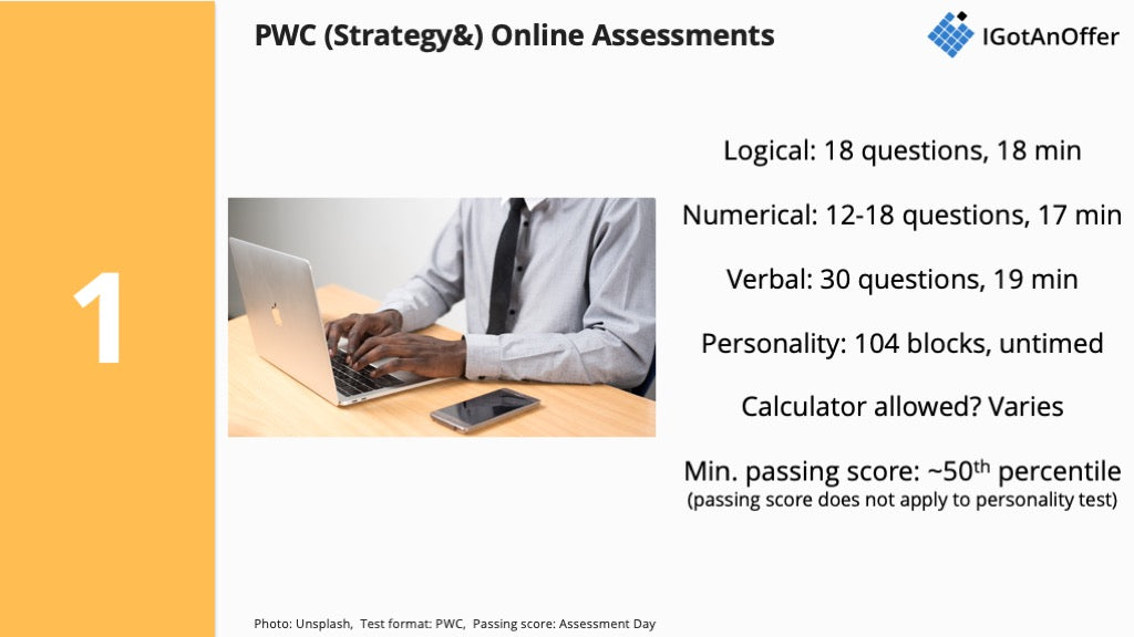 PWC (Strategy&) Online Assessments