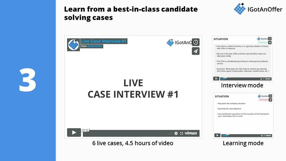 McKinsey Case Interview Training Programme – IGotAnOffer