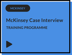 McKinsey Case Interview Training Programme