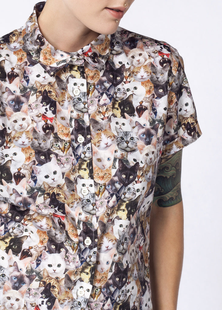 ULTIMATE WF CAT BUTTON UP