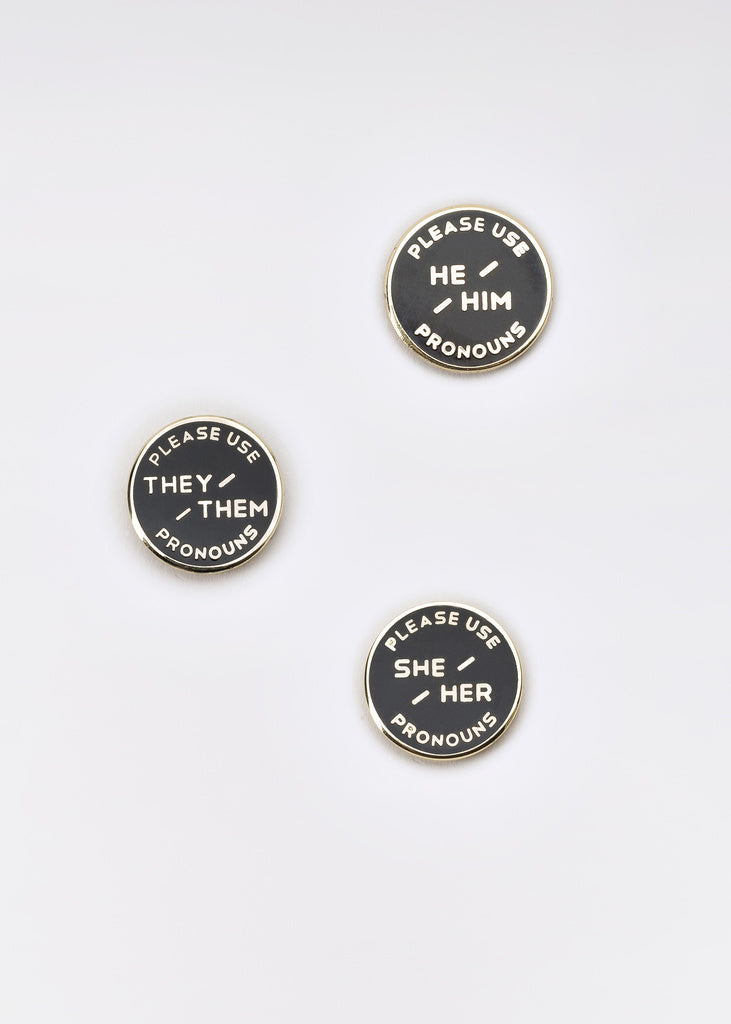 Pronoun Pin