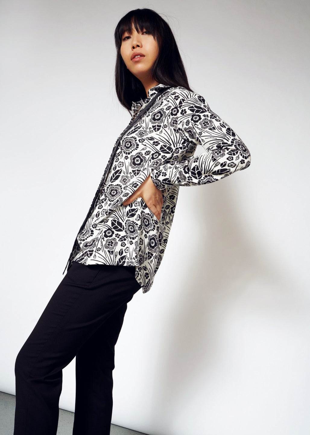 Empower Litho LS Blouse