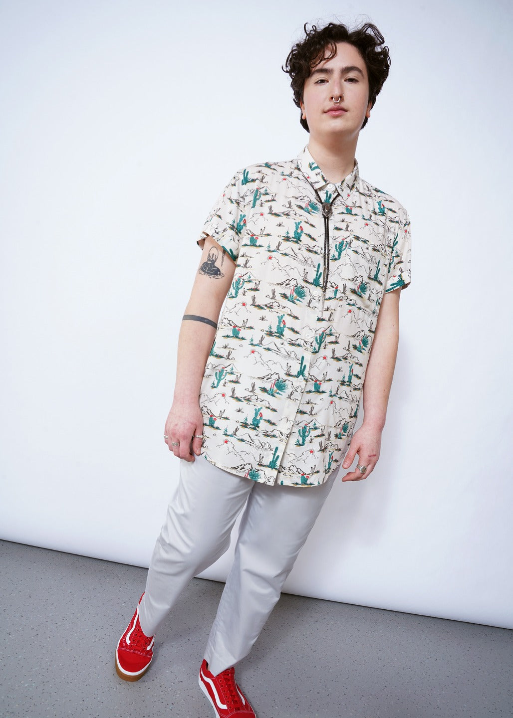 Ultimate Desert SS Relaxed Button Up