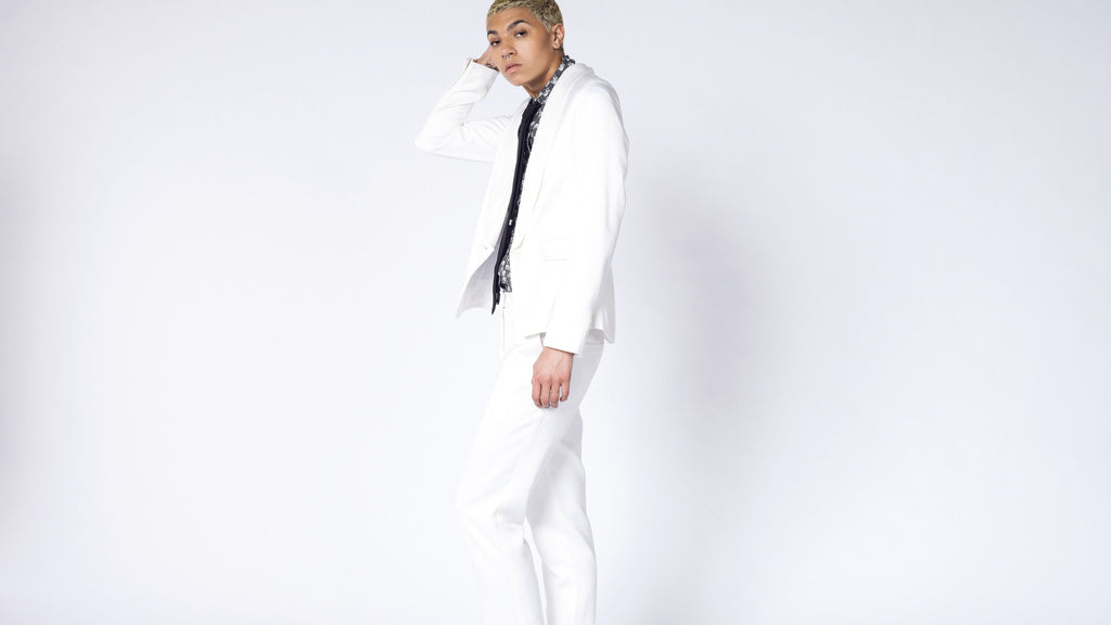 The Empower Ivory Tux Blazer