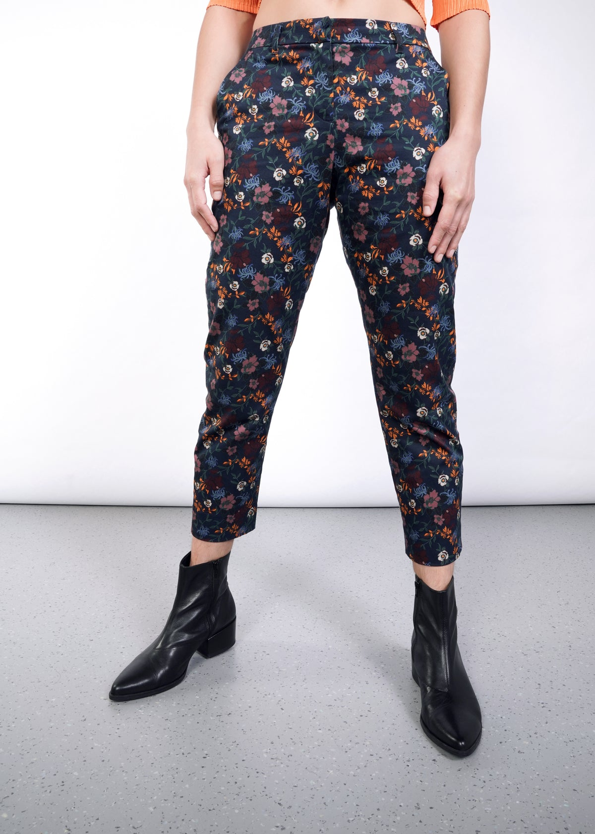 Empower Wildflower Slim Crop Pant