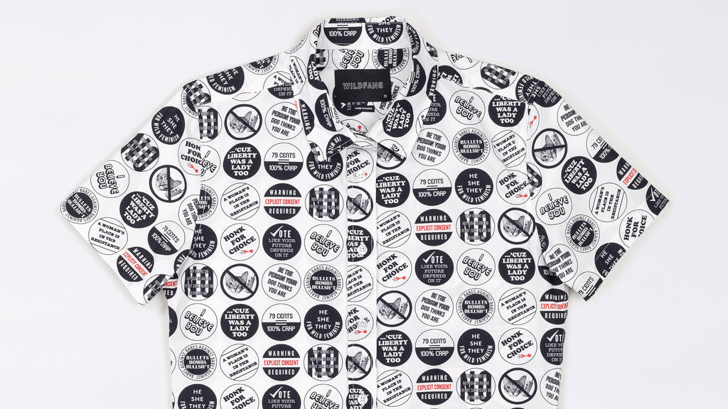 Fight For Your Rights Button Up