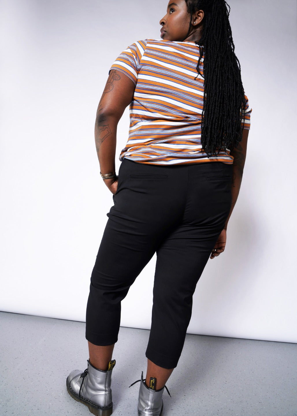 The Empower Slim Crop Pant