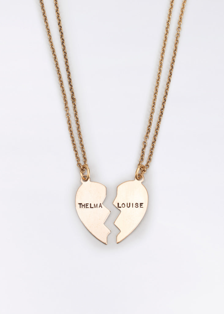 Thelma + Louise Friendship Necklaces