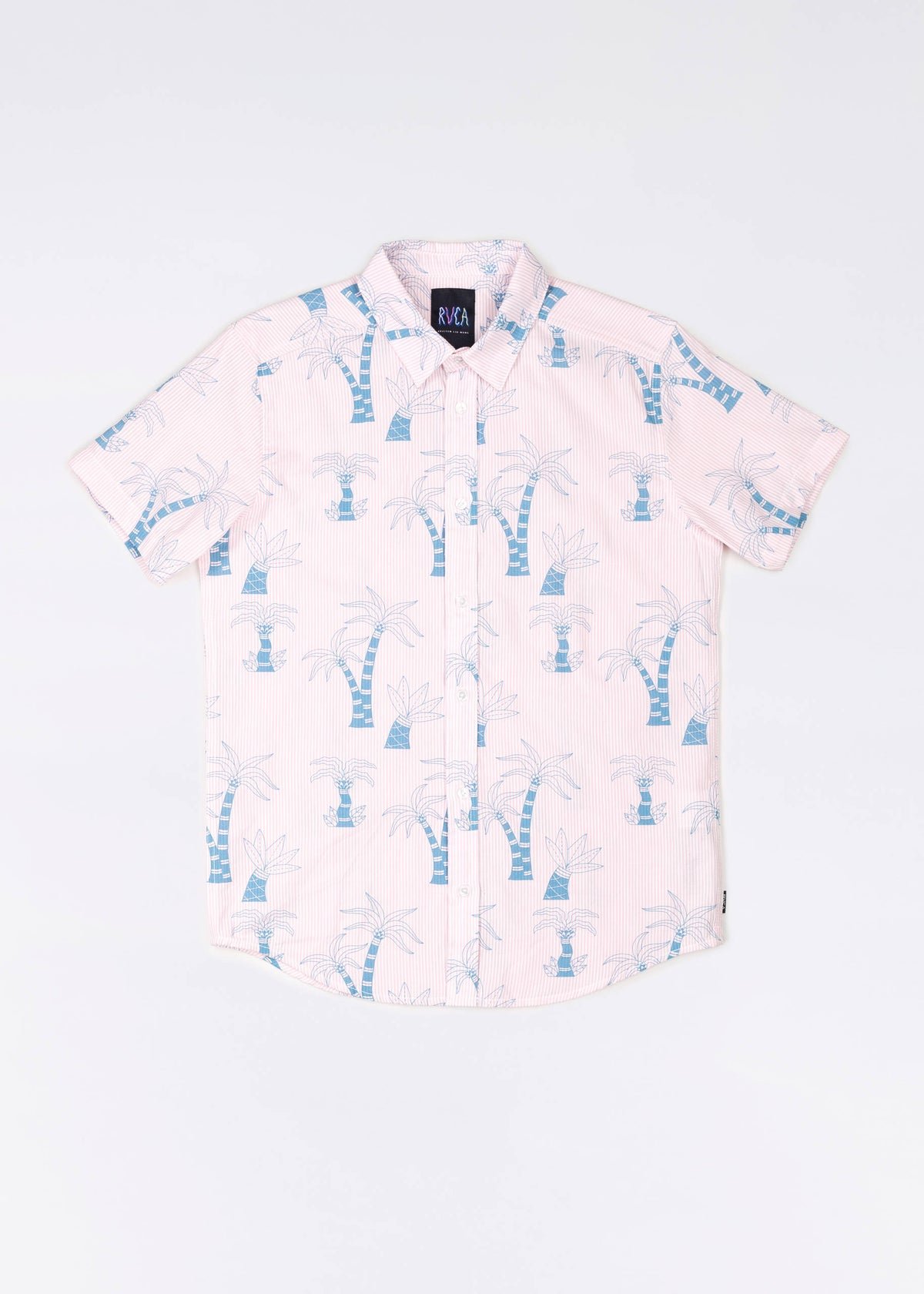 RVCA Liu-Wong Palm Button Up