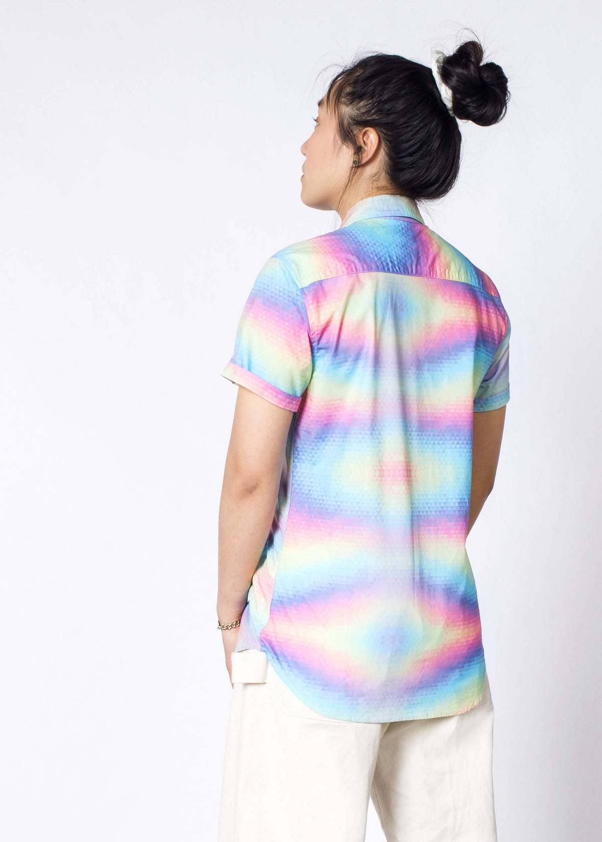 Ultimate Pride Pixel SS Button Up
