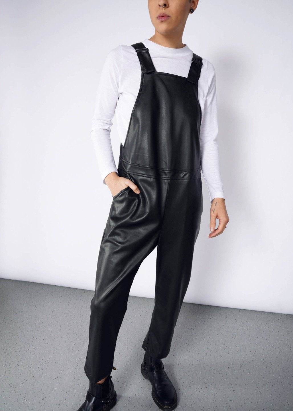 Ultimate Vegan Leather Overall