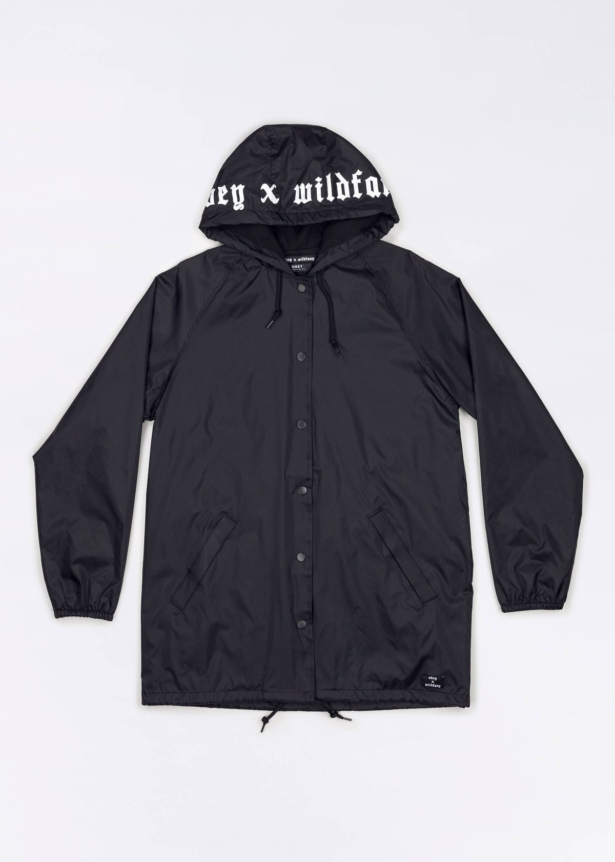 Obey x WF Wild Hooded Trench