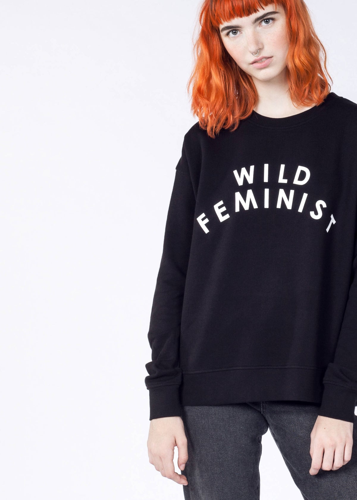 Wild Feminist® French Terry Crew