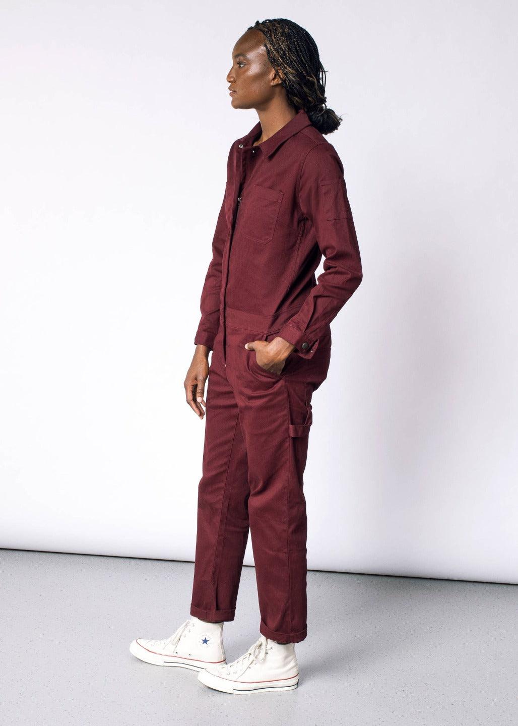 Workwear Coverall Pomegranate