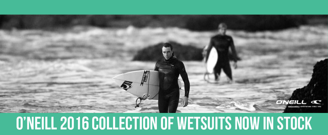 Get the lowdown on the 2016 O'Neill wetsuit collection