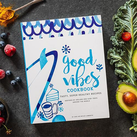 Shells Café Good Vibes Cookbook - Surfdock