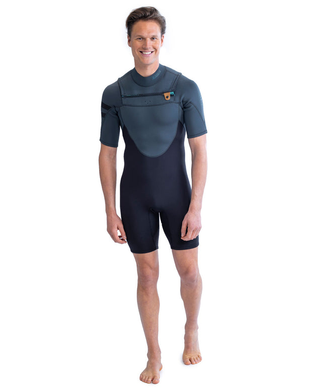 Jobe Perth Mens Shorty Chest Zip 3/2mm Wetsuit