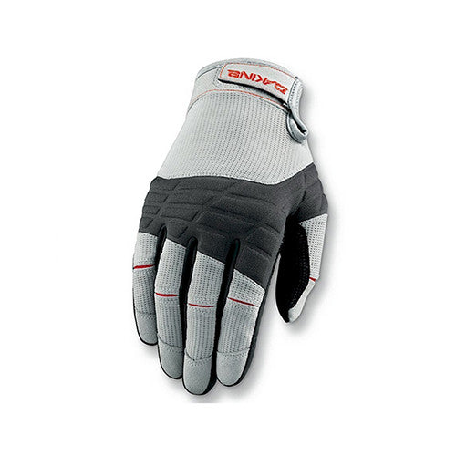 Dakine Full Finger Sailing Gloves- Grey - Surfdock Watersports Specialists, Grand Canal Dock, Dublin, Ireland