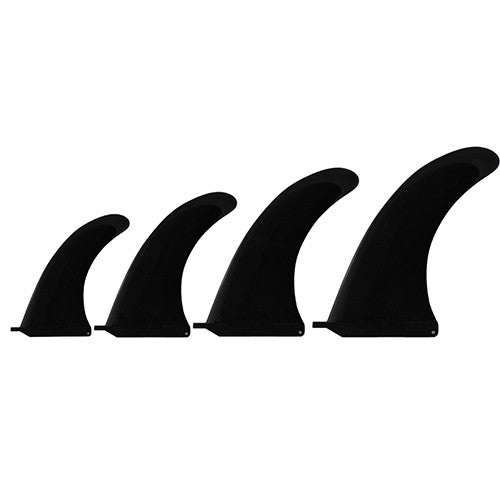 "Basic Surfboard Centre Fin (10"") - Black - Surfdock Watersports Specialists, Grand Canal Dock, Dublin, Ireland"