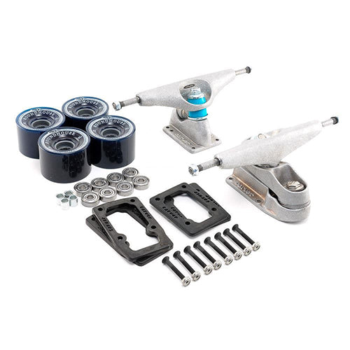 Carver C7 Raw Truck Kit With Wheels And Bearings - Surfdock Watersports Specialists, Grand Canal Dock, Dublin, Ireland