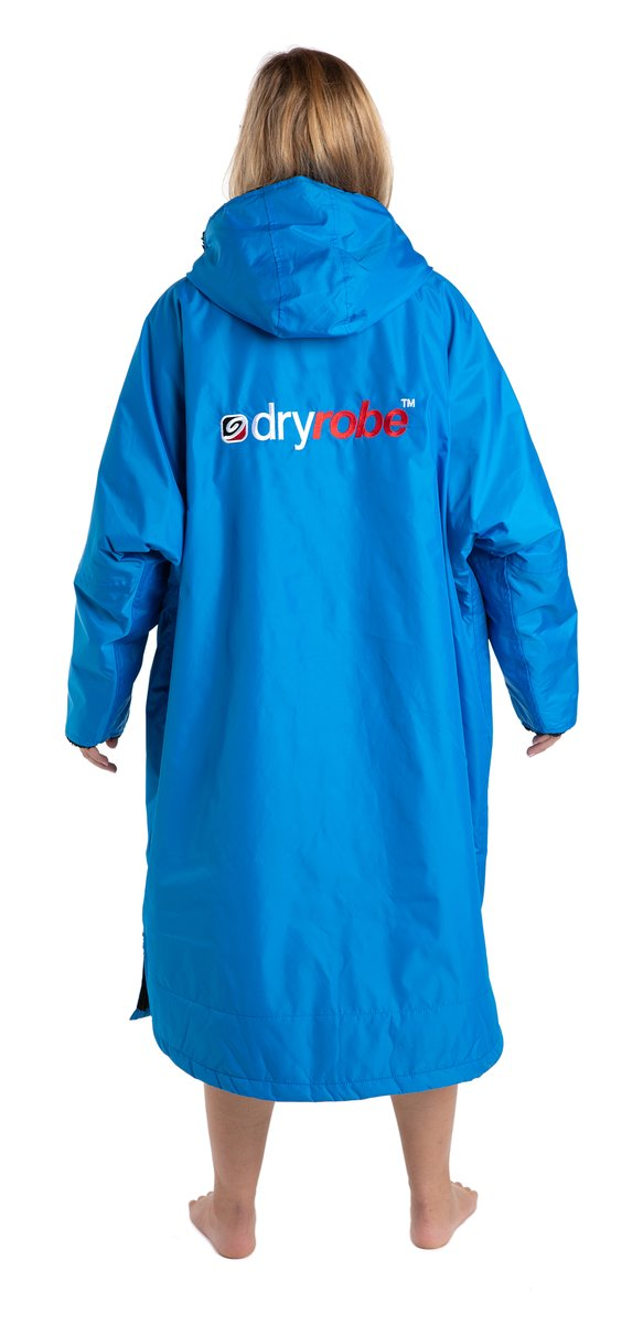 Dryrobe Advance  Changing Robe Long Sleeved - Cobalt Blue/Black - Surfdock Watersports Specialists, Grand Canal Dock, Dublin, Ireland