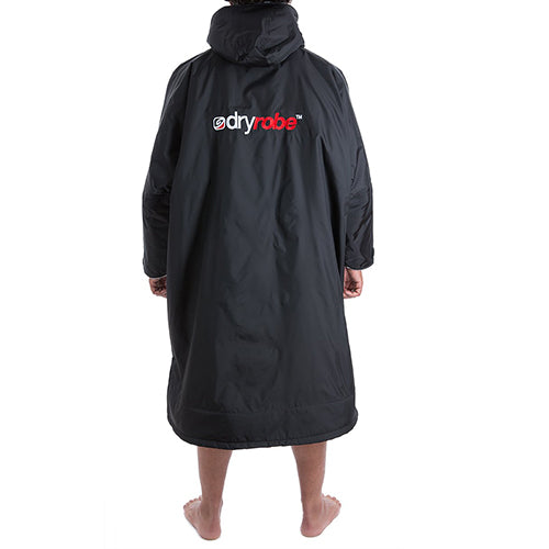 Dryrobe Advance Changing Robe Long Sleeved - Black/Grey - Surfdock Watersports Specialists, Grand Canal Dock, Dublin, Ireland