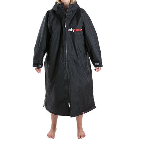 Dryrobe Advance Changing Robe LS - Black/Grey - Surfdock Watersports Specialists, Grand Canal Dock, Dublin, Ireland