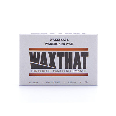 WAXTHAT Wakeboard & Wakeskate Wax - Surfdock Watersports Specialists, Grand Canal Dock, Dublin, Ireland