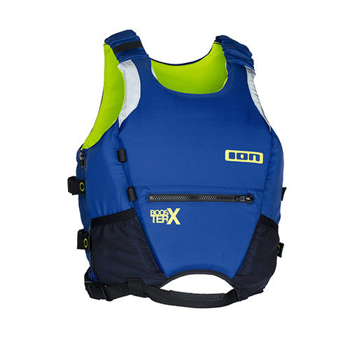 ION Booster X Vest Buoyancy Aid - Blue - Surfdock Watersports Specialists, Grand Canal Dock, Dublin, Ireland