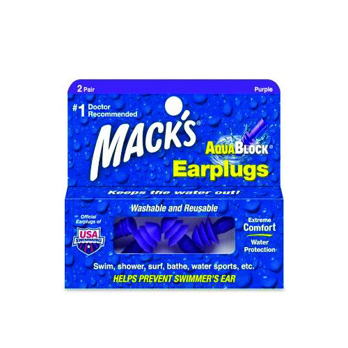 Mack's Aquablock Ear Plugs