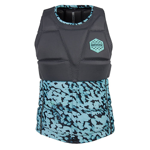 Mystic Womens Diva Wake Impact Vest - Grey - Surfdock Watersports Specialists, Grand Canal Dock, Dublin, Ireland
