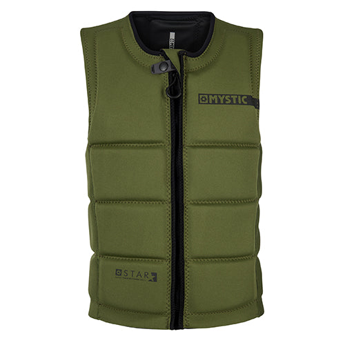 Mystic Youth Star Impact Vest - Army - Surfdock Watersports Specialists, Grand Canal Dock, Dublin, Ireland