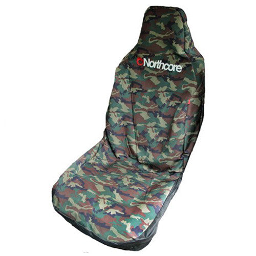 Northcore Water Resistant Car Seat Cover - Camo - Surfdock Watersports Specialists, Grand Canal Dock, Dublin, Ireland