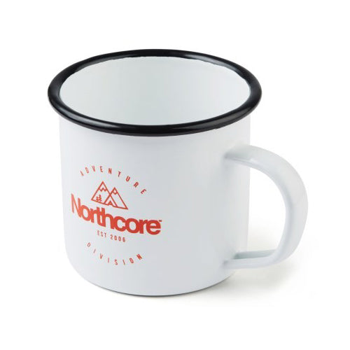Northcore Enamel Mug - Surfdock Watersports Specialists, Grand Canal Dock, Dublin, Ireland