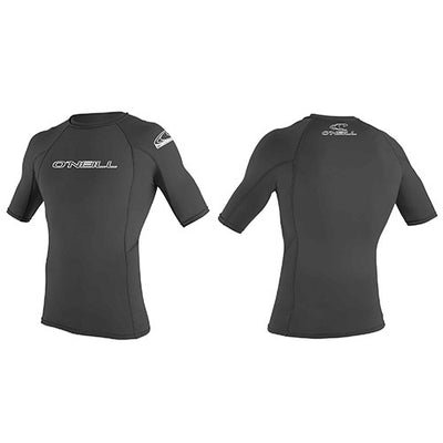 O'Neill Mens Basic Rash Vest Short Sleeved - Surfdock Watersports Specialists, Grand Canal Dock, Dublin, Ireland