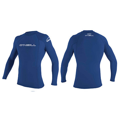O'Neill Mens Basic Skins L/S - 018 - Surfdock Watersports Specialists, Grand Canal Dock, Dublin, Ireland